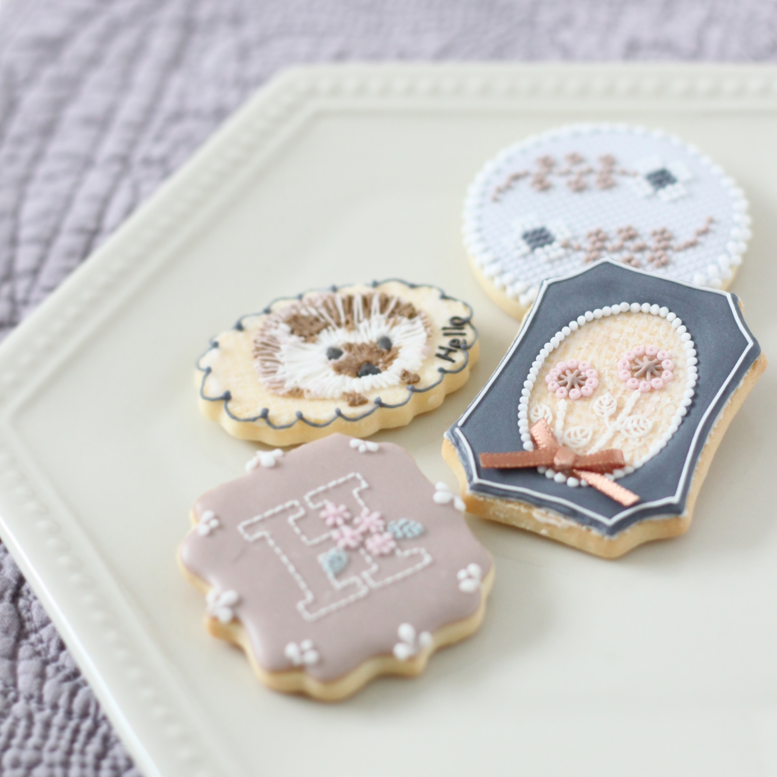 embroidery cookies - 1 day class
