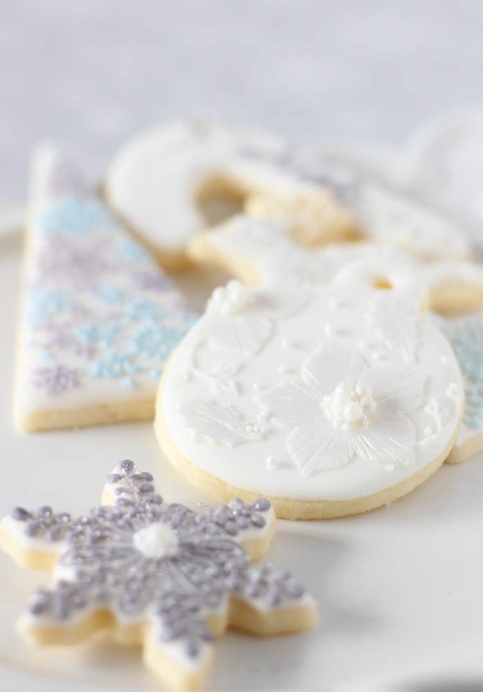 white christmas cookies - 1 day class