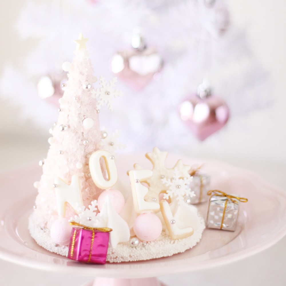 pink christmas tree - 1 day class