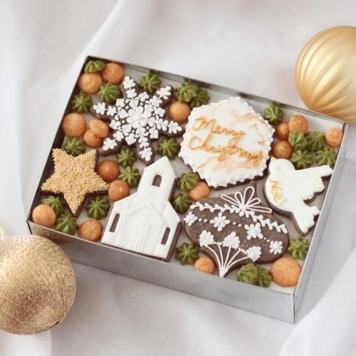 クリスマスのクッキー缶作り方講座